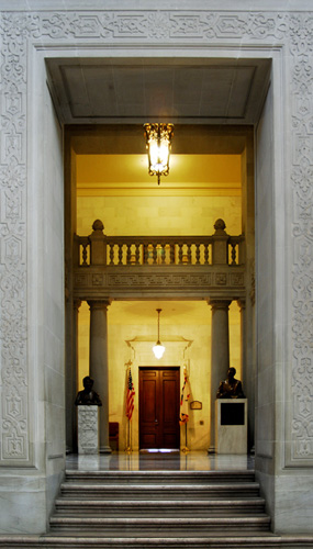 Mayors Office Door